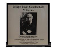 Joseph Haas Orchesterkonzert